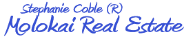 Molokai Real Estate – Stephanie Coble Logo